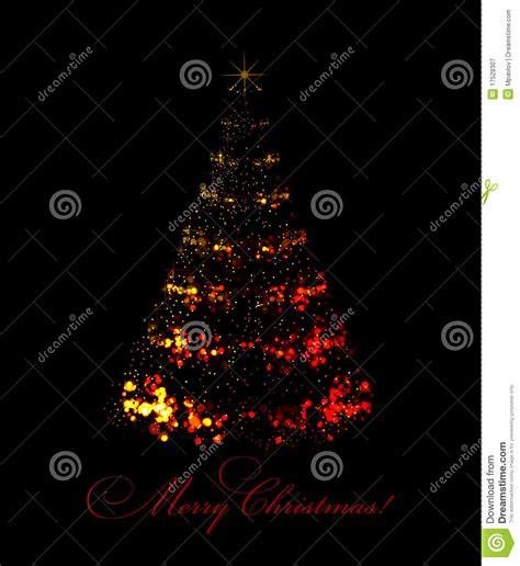 193 rbol de navidad abstracto en fondo negro fotograf 237 a de