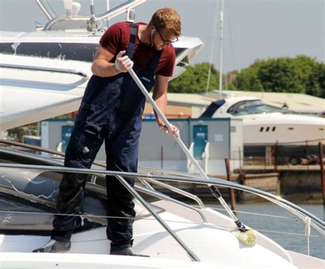Interior Boat Cleaning by Yacht Cleaning Solent Based Between Chichester And