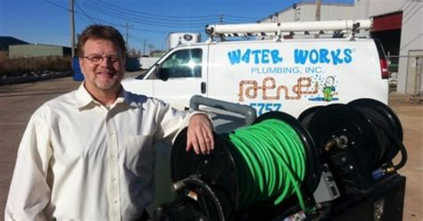 Water Works Plumbing by New Jetter Means Bigger For Oklahoma Contractor Cleaner