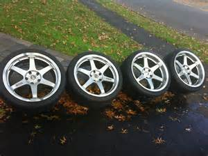 Tires For 18 Inch Rims Fs Volk Le 37 W Tires And Oem 18 Inch E90 M3 Rims W