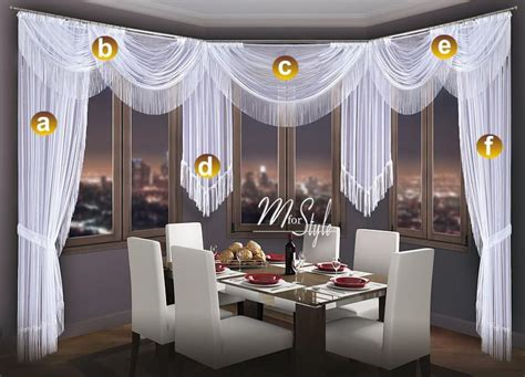 curtain tails choice of swags tails net sheer curtain swag pelmet
