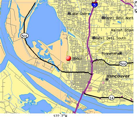 zip code maps vancouver wa vancouver washington zip codes map washington dc map
