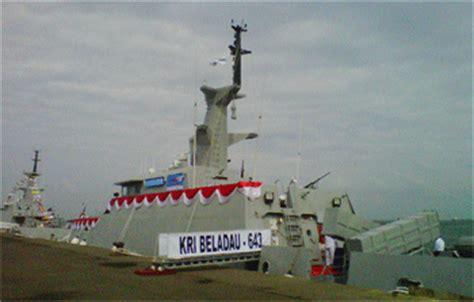 Clurit Alumunium teknologi indonesia dan dunia terkini kapal perang beladau 643 resmi perkuat tni al
