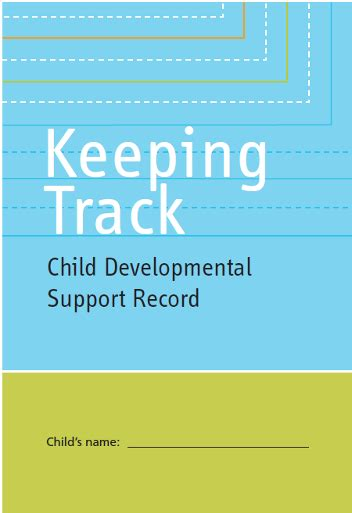 Records Child Support Toronto Early Childhood And Family Resource System Child Developmental Support Record