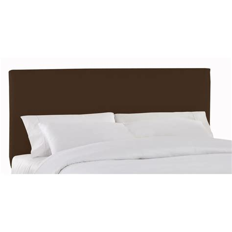 Chocolate Headboard by South Shore Step One Size Headboard In Chocolate 3159270 The Home Depot