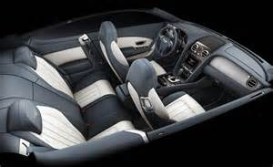 Interior Of Bentley Car And Driver