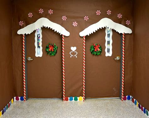 santas house of games xmas door decoration craftionary