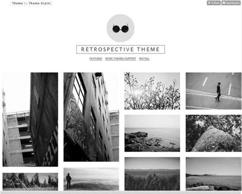free tumblr themes lookbook 50 best free tumblr themes