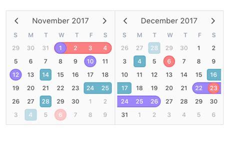laravel calendar tutorial v calendar a clean and lightweight vue js calendar