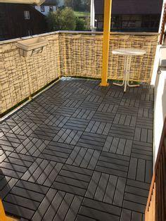 ikea runnen hack ikea deck tiles patio pick me up pinterest decking