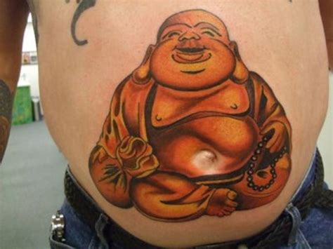 laughing buddha tattoos designs ideas and meaning