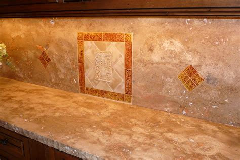 how to install stone tile backsplash decor trends
