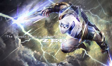 desktop wallpaper zed zed league of legends wallpaper zed desktop wallpaper