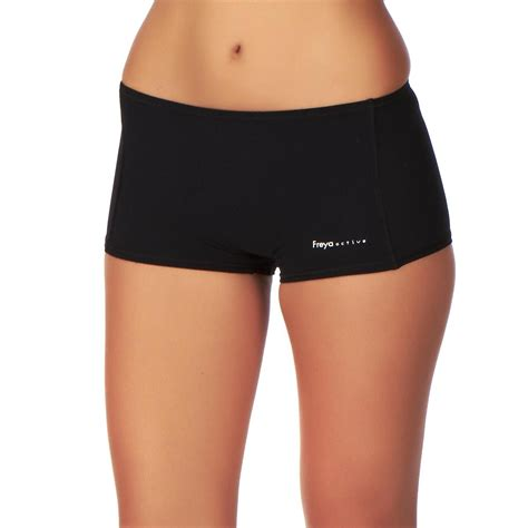 boy short swimsuit bottoms for women freya active swim boy short bikini bottom black free