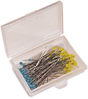 Clover Patchwork Pins - creative grids uk ltd clover patchwork glasshead pin
