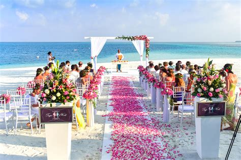 Hochzeit Freie Trauung by Seaside Wedding With Walkway Image Free Stock Photo
