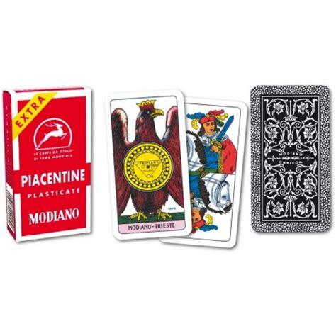 giochi da tavolo scopa carte da gioco piacentine modiano vendita