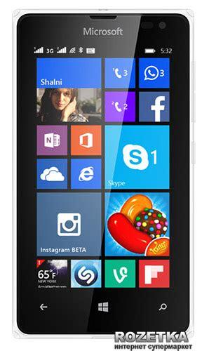 For Nokia Lumia 532 White rozetka ua microsoft lumia 532 ds nokia white