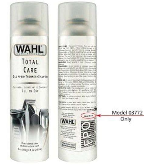 Contact Cleaner Lubricant Standard wahl recalls total care aerosol cleaner cpsc gov