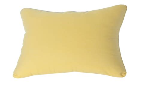 lumbar pillow indoor outdoor 18 quot x12 quot sunbrella solid color