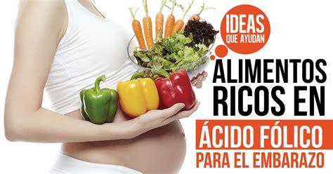 alimentos ricos en acido f lico alimentos ricos en 225 cido f 243 lico para el embarazo ideas