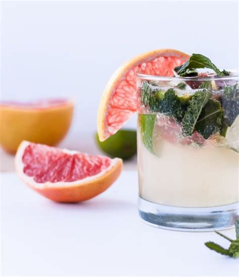Grapefruit Mint Detox Drink by 71 Delicious Detox Water Recipes To Help You Lose Weight Fast