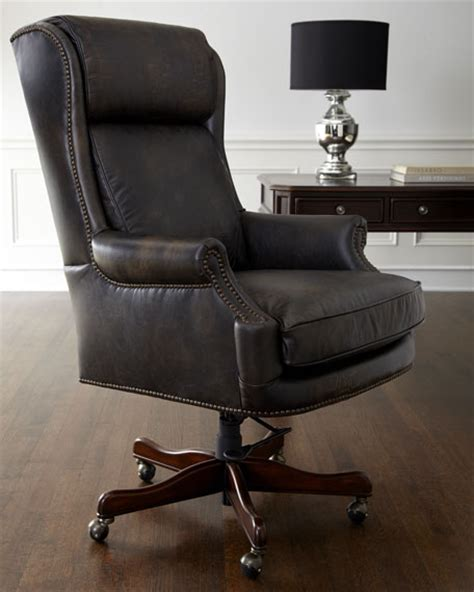 leather office desk chair furniture leather desk chair