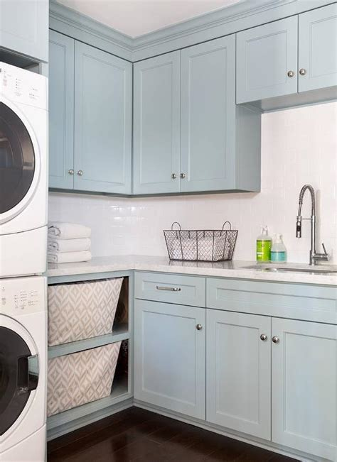 blue laundry room blue laundry room cabinets with marble transitional laundry room