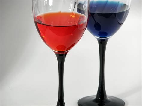Colored Wine Glasses Drinks Free Stock Photo Colored Wine Glasses 41