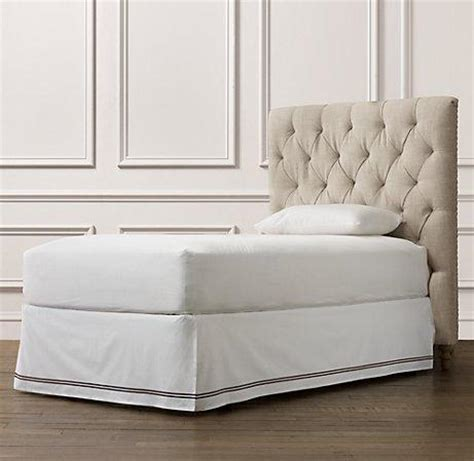 headboards restoration hardware chesterfield upholstered headboard beds bunk beds