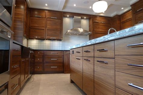 horizontal kitchen cabinets walnut horizontal grain kitchen contemporary kitchen indianapolis by susan brook interiors