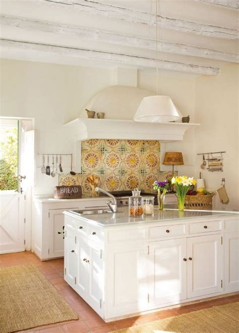kitchen mural ideas 35 cozy and chic farmhouse kitchen d 233 cor ideas digsdigs