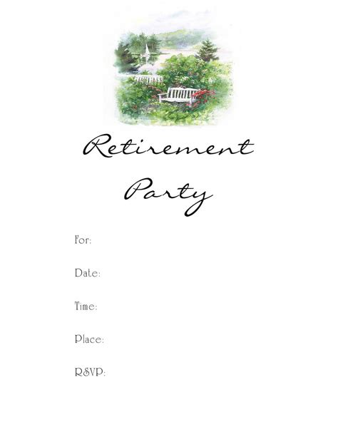 retirement party invitation flyer template publisher flyer templates