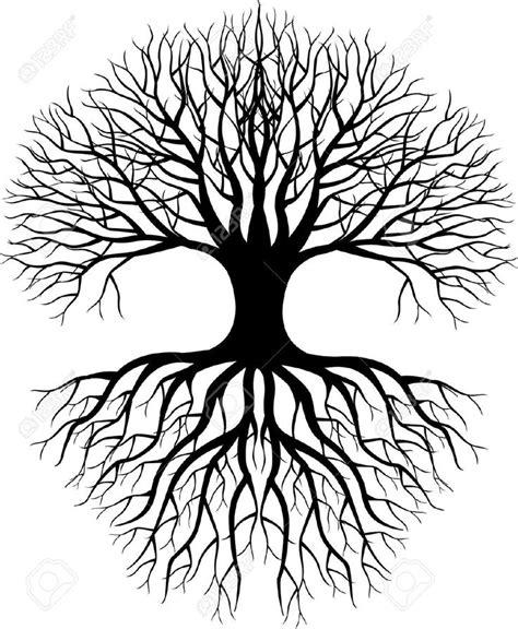 drawn dead tree celtic tree pencil and in color drawn