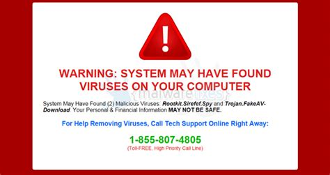 Are You To Your Computer by Remove Quot Warning System May Found Viruses On Your