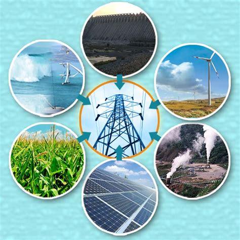 sustainable energy renewable energy types of renewable energy and resources