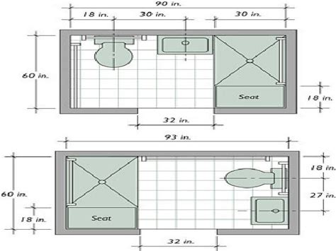 Make Floor Plan Small Bathroom Layout Small Bathroom Design Plans