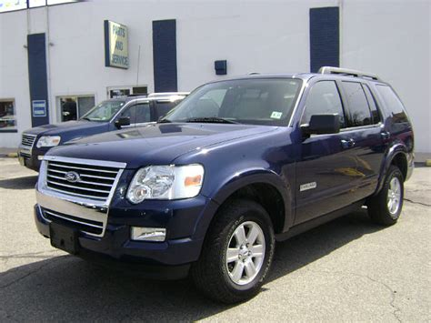 Ford Explorer 2008 by 2008 Ford Explorer Overview Cargurus