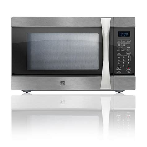 Countertop Convection Microwave Reviews by Kenmore Elite 74153 1 5 Cu Ft Countertop Microwave W