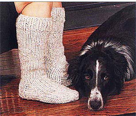 knitting pattern thick socks ravelry cottage slipper socks knit pattern by lion