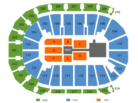ford center seating ford center evansville seating chart events in