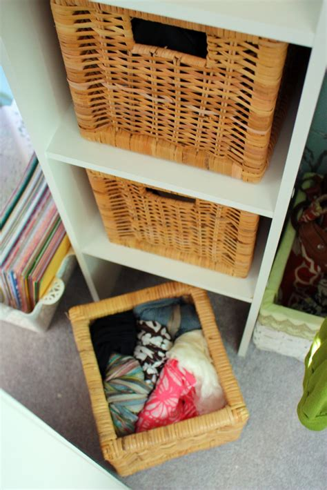 Baskets For Closet Organization by Iheart Organizing September Featured Space Bedroom