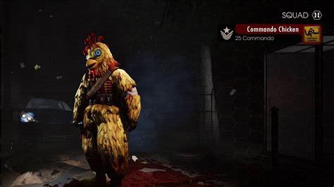 killing floor 2 commando chicken suit youtube