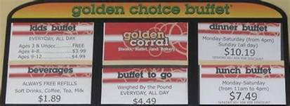 golden buffet prices ᐅ golden corral 174 prices buffet menu price 2017 coupons