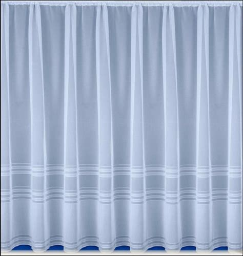 curtain sizes hudson white net curtain panel many sizes available ebay