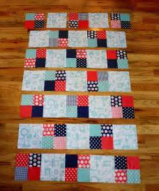 project design team wednesday fast four patch quilt