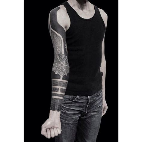 solid black tattoo sleeve 43 best images about on