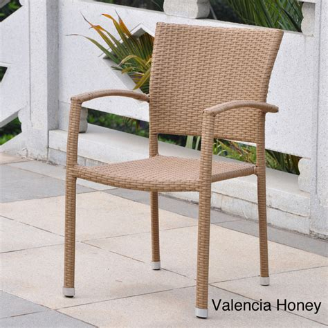 Resin Wicker Dining Chairs by Barcelona Resin Wicker Outdoor Dining Chairs Set Of 4