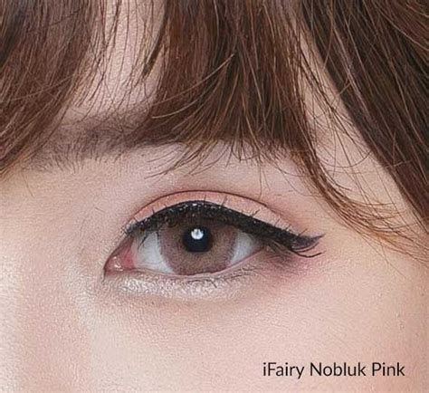 pink colored contacts i nobluk pink circle lens colored contacts
