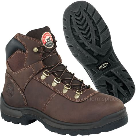 wing steel toe work boots s work boots wing setter waterproof 6 quot hiker